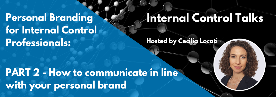 communicate in line with your personal brand
